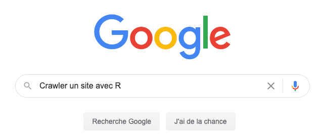 crawler et récupérer des informations / données d'un site avec R et RCrawler