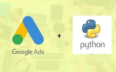 Python & Adwords : Récupérer les volumes de recherche pour une liste de mots clés